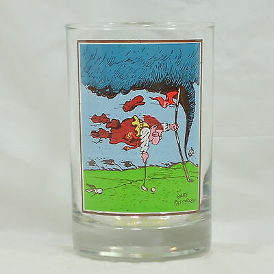 Dedication - Vintage 1982 Arby's Collectors Series Glass by Gary Patterson