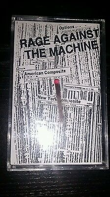Rage Against The Machine Early 3 Track Promo Tape Cassette Epic 1992 Match Stick