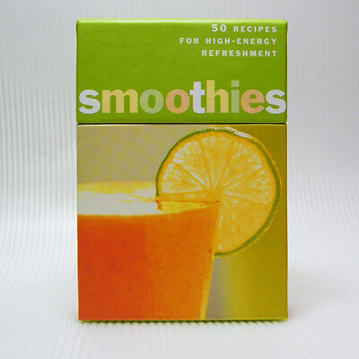 The SMOOTHIES DECK- 50 Recipes for High Energy Refreshment Chronicle Books