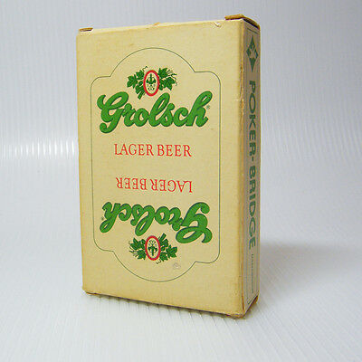 GROLSCH Lager Beer Playing Cards