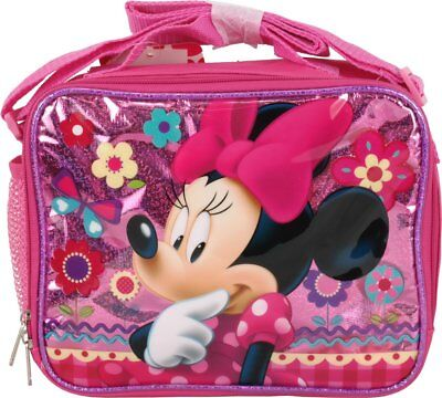 New Arrive Disney Minnie Mouse School Insulated Lunch Bag-Pink