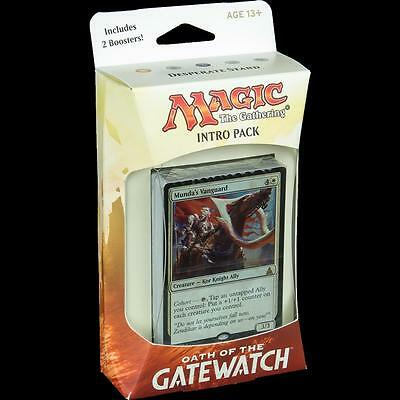 Magic the Gathering Oath of the Gatewatch Intro Pack Desperate Stand