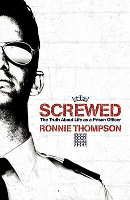 Screwed by Thompson, Ronnie Paperback Book The Cheap Fast Free Post