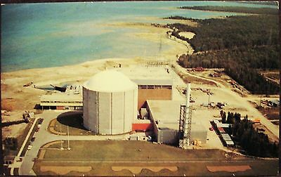 Douglas Point Nuclear Power Station - Aerial View - Ontario - Vintage Postcard