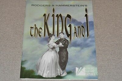 The King And I Musical 2000 Program Booklet South Bay