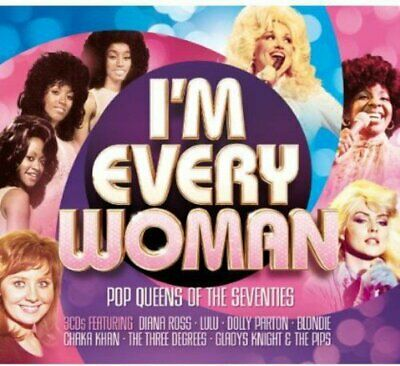 I'm Every Woman -  CD SEVG The Cheap Fast Free Post The Cheap Fast Free Post