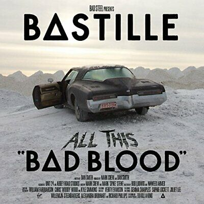 Bastille - All This Bad Blood - Bastille CD MCVG The Cheap Fast Free Post The