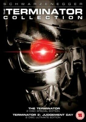 The Terminator Collection: Terminator 1 & 2 (Special Editions) [DVD] - DVD  S8VG