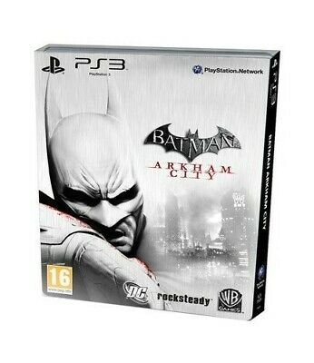 Batman Arkham City Limited Edition Steelbook (PS3) - Game  L4VG The Cheap Fast