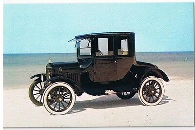 "1924 Ford Model ""t"" Coupe Car - Auto  Postcard Unused # 167696"