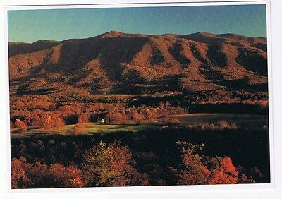 Cades Cove During The Fall In The Great Smokey Mountains  - Postcard  #a0304