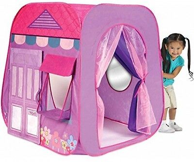 Play Tent House Kids Camping Outdoor Garden Hut Girl Indoor Toys Playhut PINK
