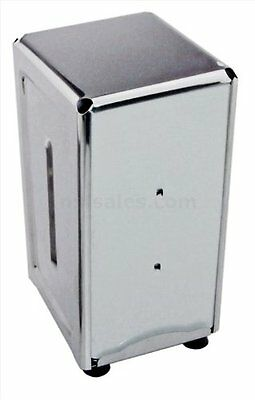 Star 24074 Stainless Steel Tall Fold Napkin Dispenser, 3.875 by 4.75 by 7.5-Inch