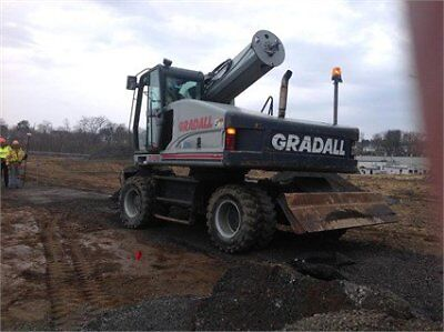 2005 GRADALL XL4300 Wheel Excavators