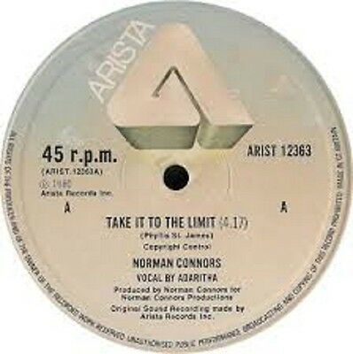 "Norman Connors Take it to the limit UK Arista (12"" Vinyl Soul)"
