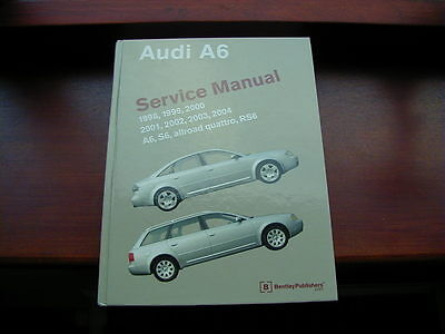 Audi A6 Allroad Bentley Workshop Manual, American publication, 2 inches thick!!!