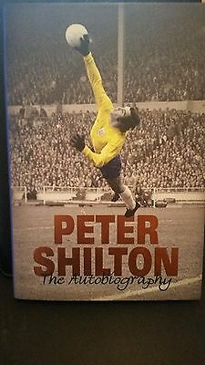 PETER SHILTON 'The Autobiography' SIGNED (1st Edition) Hard-Back BOOK