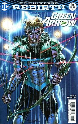 Green Arrow #16 Neal Adams Variant Rebirth Dc Comics 2/1/17