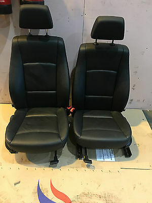 Bmw X1 E84 2011 - Black Leather Seats With Door Cards