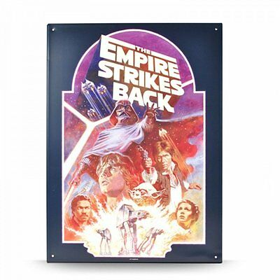 Star Wars - A3 Blechschild Wandschild - Episode 5 - The Empire Strikes Back