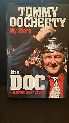 Tommy Docherty My Story The Doc Signed Autobiography