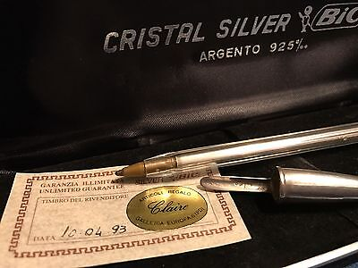 Penna Bic Cristal Silver