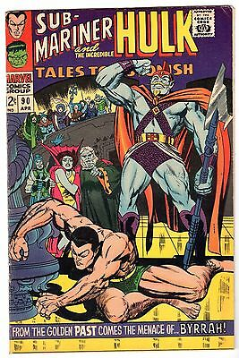 Tales to Astonish #90 with Incredible Hulk & Sub-Mariner, Fine - VF Condition.