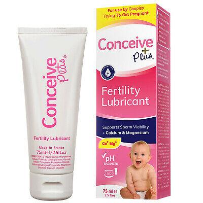 Conceive Plus Fertility Lubricant 75ml **Manufacturer Direct**