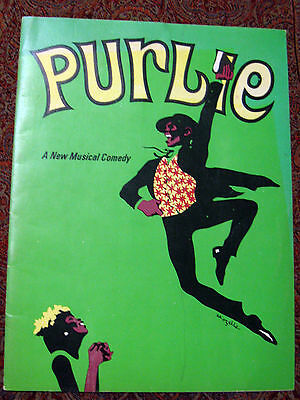 'PURLIE' – A New Musical Comedy Philip Rose Presents