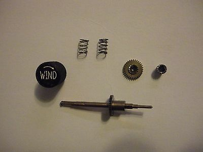 New Old Stock Waltham A13A Military Aircraft Clock Winding Stem and Knob Parts