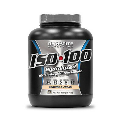 Dymatize ISO 100 (3lbs) Strawberry