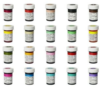 wilton food colour icing color concentrate gel dye paste for cup cake decorating - Pastel Food Coloring
