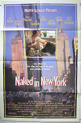 NAKED IN NEW YORK (1993) Original 1-Sheet Film Poster - Eric Stoltz, Tony Curtis