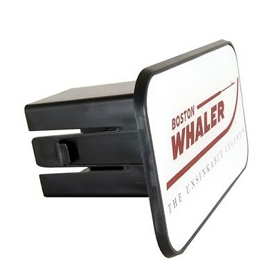 """Boston Whaler Boats 5"""" x 3"""" Trailer Hitch Receiver Cover Fits 2"""" Receivers"""