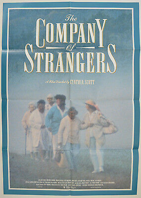 THE COMPANY OF STRANGERS (1990) Original One Sheet Movie Poster - Cynthia Scott
