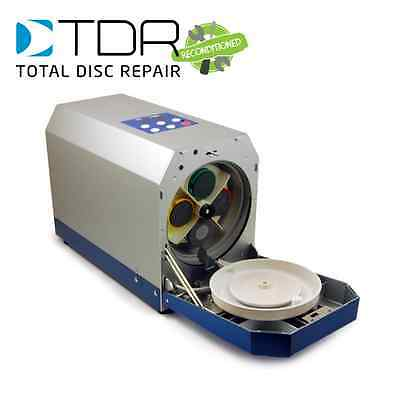 TDR Reconditioned Eco Clever Disc Repair Machine - fix CDs, DVDs, Blu-ray