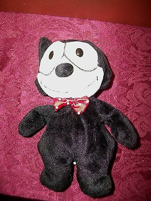 "Felix the Cat  Plush and Beanbag Toy Doll  1996 A&A Plush - 7"" Tall"