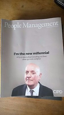 CIPD People Management Magazines (12 items)/ Human Resources