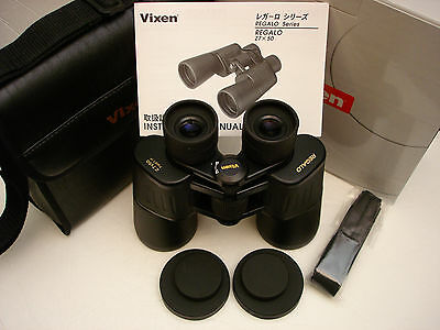 Vixen Regalo 7X50 Binoculars,metal Body,bak4,multicoated,rubber Armored,japan