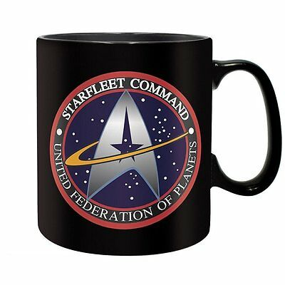 Star Trek - Keramik Tasse Riesentasse 460 ml - Starfleet Command - Geschenkbox