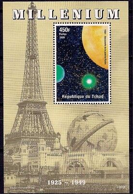 Chad Planet Pluto Discovery Space Astronomy m/s MNH