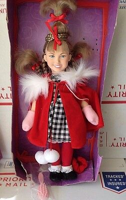 """Dr. Suess, How the Grinch Stole Christmas, 14"""" Cindy Lou Who Doll."""