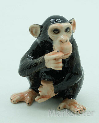 Figurine Animal Ceramic Statue Monkey  - WA004