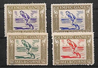 S148 1956 Australia Olympic Games Melbourne Stamps {samwells-covers}PTS