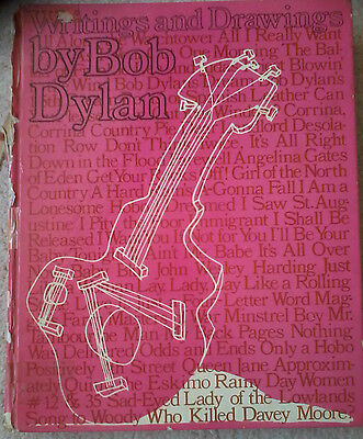 Bob Dylan Hardback Book - Writings & Drawings