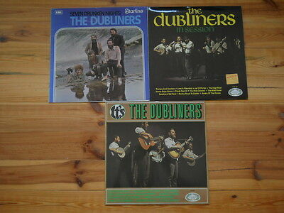The Dubliners It's The Dubliners - In Session - Seven drunken Nights LP Sammlung