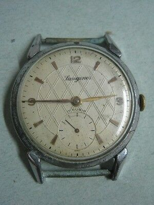 Antique man watch Langines made in Swiss