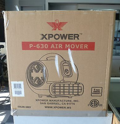 ~NEW~ XPower P-630 Air Mover (floor dryer)