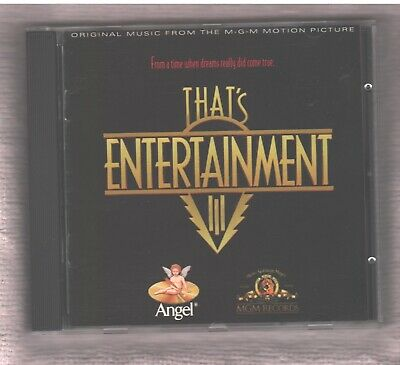 That's Entertainment 3 Soundtrack CD 1994 21 Tracks Lena Horne Judy Garland ++