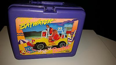 Vintage 1995 Mattel Thermos Barbie Lunch Kit Baywatch As is